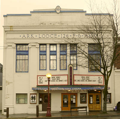 Photograph - Columbia City Cinema by Frank Winters