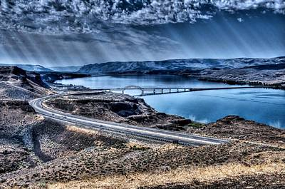 Photograph - Columbia River At Vantage by Spencer McDonald
