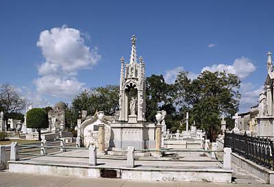 Photograph - Columbus Cemetery 2. La Habana. Cuba by Juan Carlos Ferro Duque