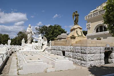 Photograph - Columbus Cemetery 4. Cuba by Juan Carlos Ferro Duque