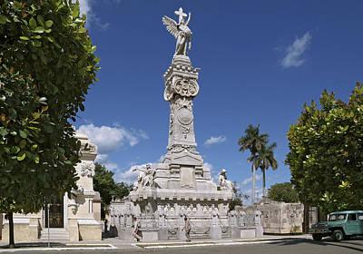 Photograph - Columbus Cemetery. Cuba by Juan Carlos Ferro Duque