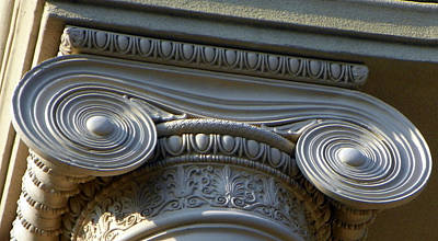 Photograph - Column Capital I I by Sheri McLeroy