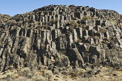 Columnar Basalt Formation Art Print by Kaj R. Svensson