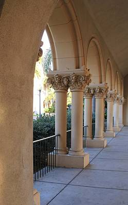 Photograph - Columns Of Distinction by Frank Wickham