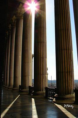 Photograph - Columns by Patrick Witz