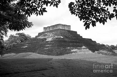 Photograph - Comalcalco Pyramid Mexico by John  Mitchell