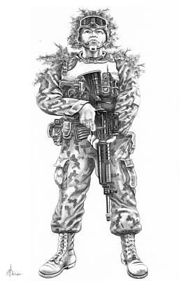 Combat Soldier Original by Murphy Elliott