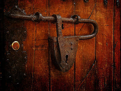 Combination Lock Art Print by Blair Wainman