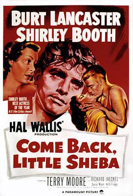 Postv Photograph - Come Back, Little Sheba, Burt by Everett