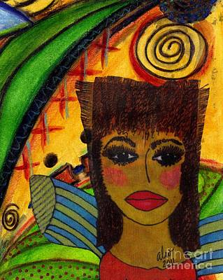 Mixed Media - Come Dream With Me by Angela L Walker