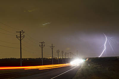Thunder Photograph - Come Into The Light Lightning Strike by James BO  Insogna