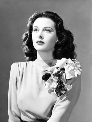 1941 Movies Photograph - Come Live With Me, Hedy Lamarr, 1941 by Everett