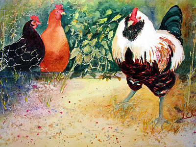 Painting - Come On Out by Lori Chase