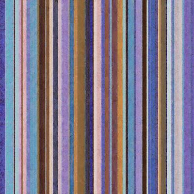 Painting - Comfortable Stripes Ll by Michelle Calkins