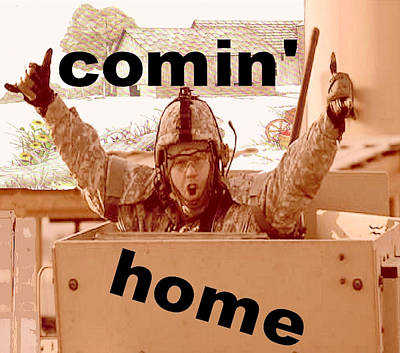 Comin' Home Original by Terri Mertz