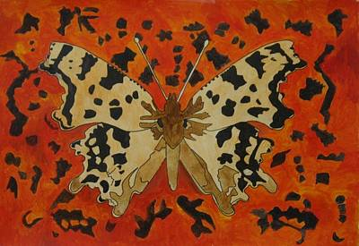 Painting - Comma by Phil Davis