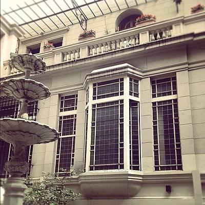Patio Photograph - Como En Casa #bow-window #buenosaires by Diego Jolodenco