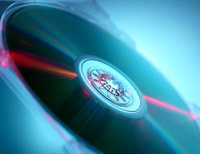 Compact Disc Art Print