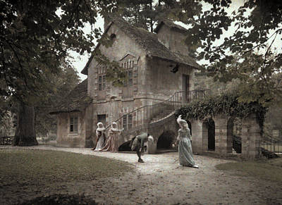 Company Members Reenact Life Art Print by Gervais Courtellemont