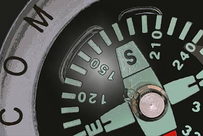 Photograph - Compass by Bill Owen