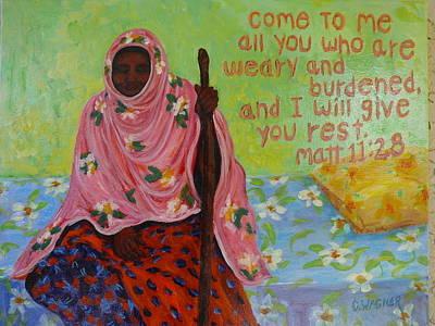 Compassion Art Print by Carol Ann Wagner
