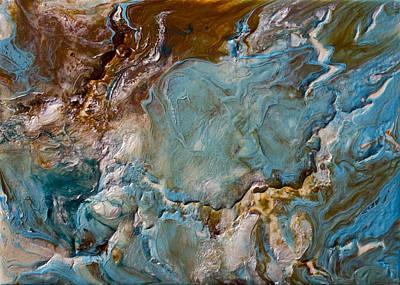 Hgtv Painting - Complete Serenity by Dora Woodrum