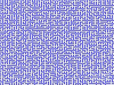 Digital Art - Complex Maze by Yali Shi