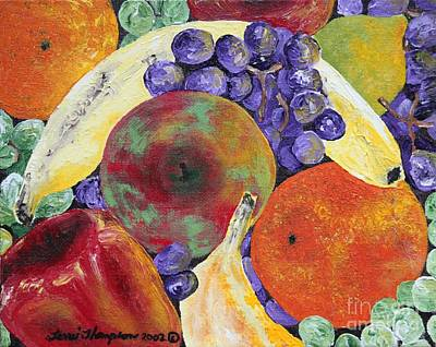 Painting - Complimentary Fruit by Terri Thompson