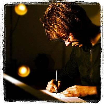 Piano Wall Art - Photograph - Composer #composer #music #writer by Luke Fuda