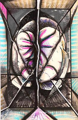 Composition Five Art Print by Al Goldfarb