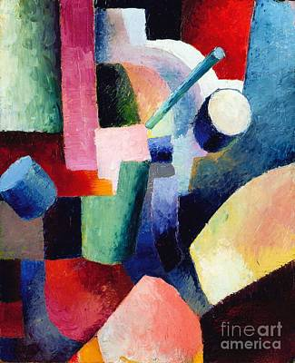 Painting - Compositions Of Forms by Pg Reproductions