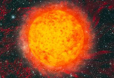 Whole Sun Photograph - Computer Artwork Of The Sun by Mehau Kulyk
