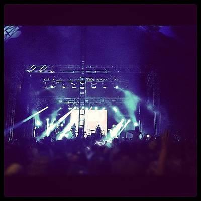 Band Photograph - #concert #festival #music #sound #pnau by Glen Offereins