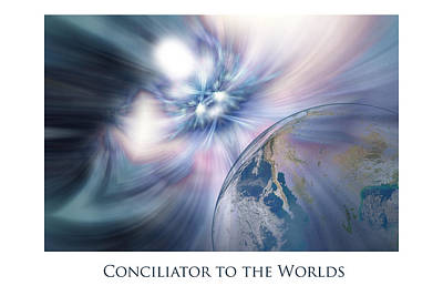 Urantia Digital Art - Conciliator To The Worlds by Jeff Haworth