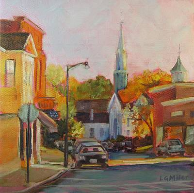 Concord Massachusetts Painting - Concord Afternoon by Laurie G Miller