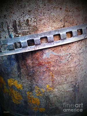 Photograph - Concrete Abstract by Eena Bo