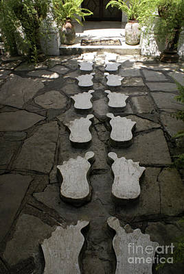 Photograph - Concrete Feet Xilitla Mexico by John  Mitchell