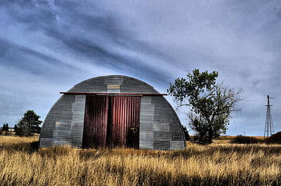Photograph - Concrete Hut by Emily Stauring