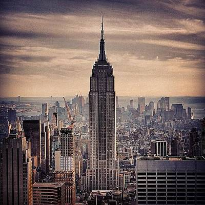 Skyscrapers Wall Art - Photograph - Concrete Jungle - New York by Joel Lopez