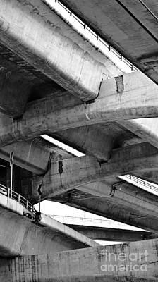 Concrete Jungle Canopy Art Print by L E Jimenez