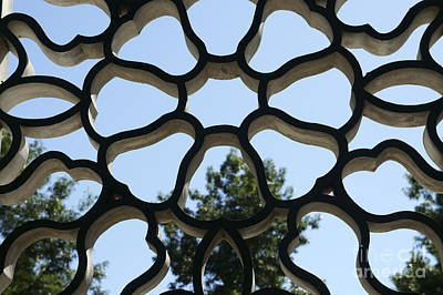 Photograph - Concrete Lattice Vancouver Chinatown by John  Mitchell