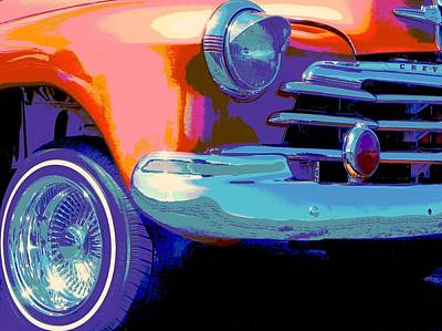 Muscle Car Masters Photograph - Conejo Psycho by Chuck Re