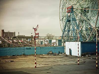 New York City Photograph - Coney Island 3 by Darren Martin