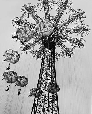 Coney Island Ride Art Print by Archive Photos