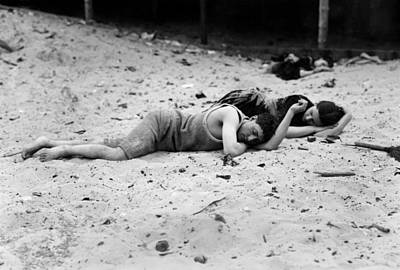 Photograph - Coney Island: Sleeping by Granger