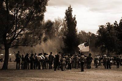 Photograph - Confederates by Pristine Cartera Turkus