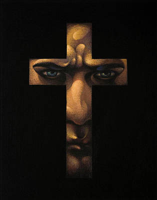 Painting - Confession by Marian Christopher Zacharow