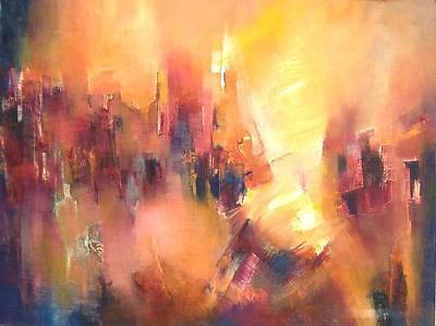 Confluence Art Print by Alicia Valdivia