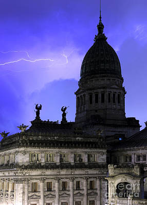 Photograph - Congreso Lighting 4 by Balanced Art