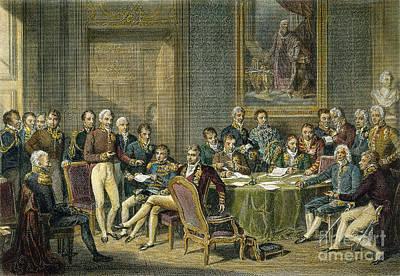 Maurice Richard Photograph - Congress Of Vienna, 1815 by Granger